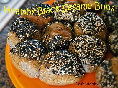 Black Sesame Healthy Bread | Passionate About Baking