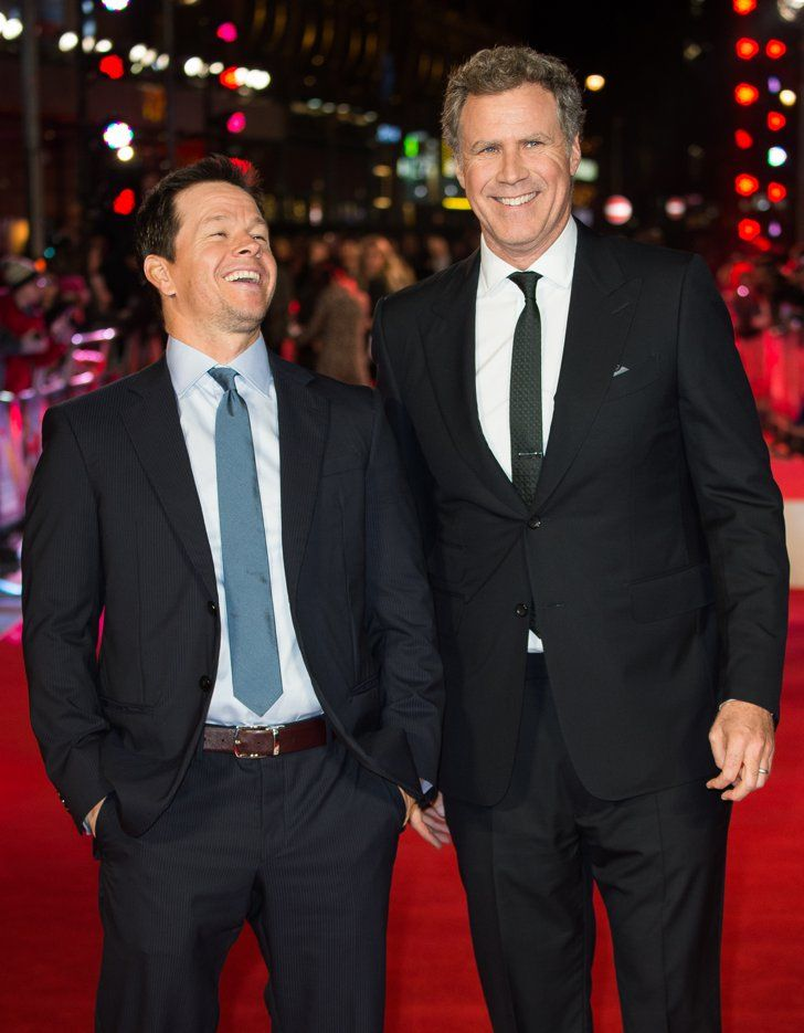 Mark Wahlberg And Will Ferrell Joke Around Like Old Friends On The Red Carpet Mark Wahlberg Celebrities Red Carpet