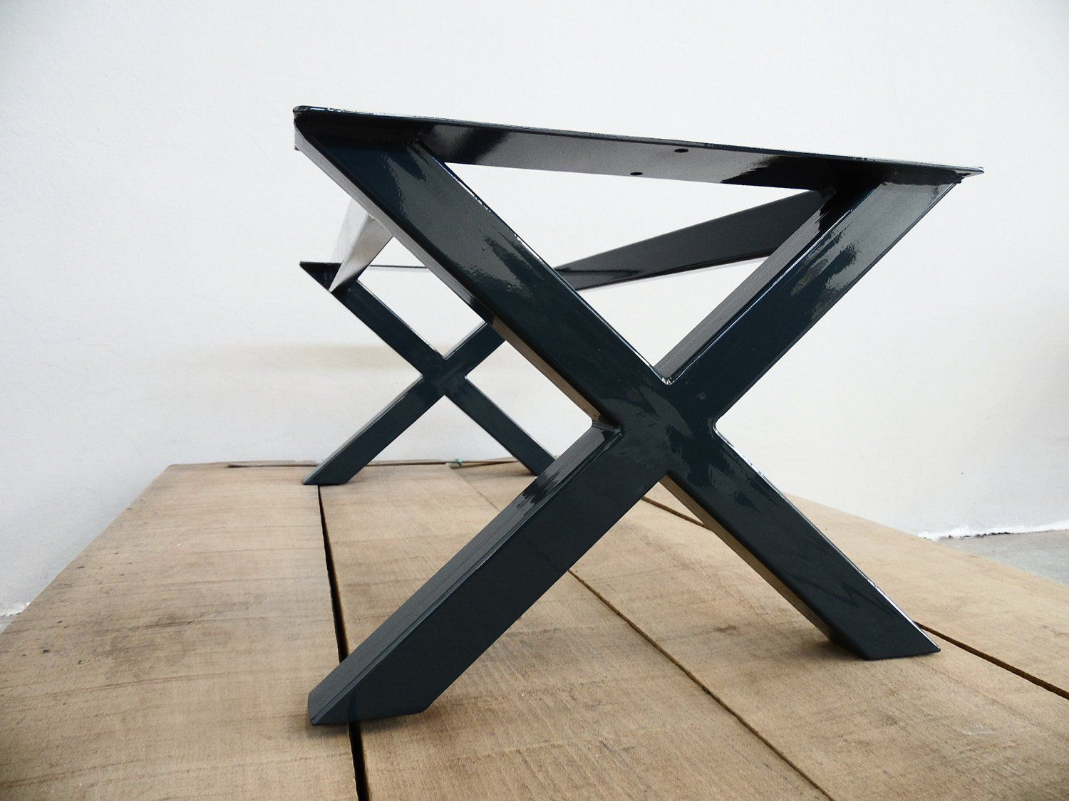 Metal Dining Table Base 28 H X 24 W Apart Etsy Metal Base
