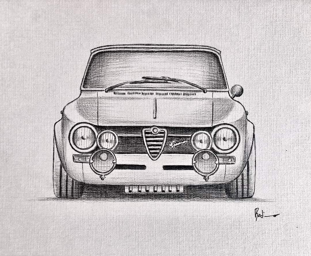 Autoszeichnungen Art Cars Car Drawings Car Artwork