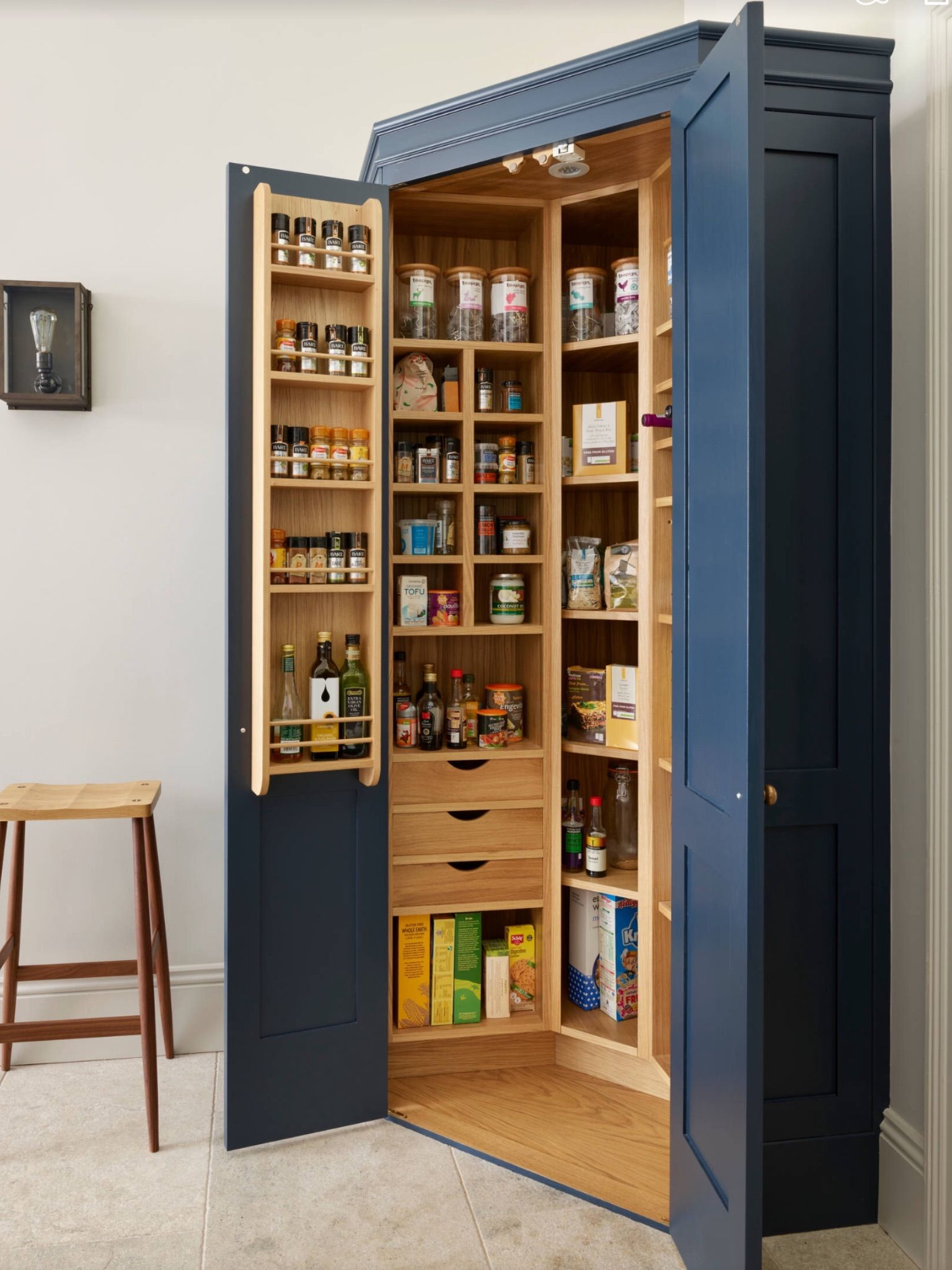 Kitchen pantry | Kitchen | Pinterest | Despensa, Cocinas y ...