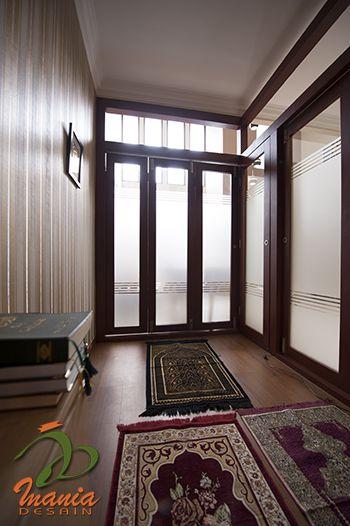 Desain Foyer Minimalis : Desain mushola minimalis dalam rumah desainrumahnya