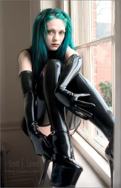Think, that latex gloves girls Shine something