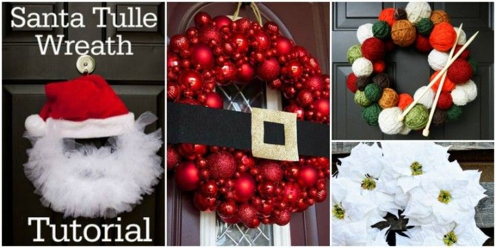20+ DIY Christmas Wreath Ideas and Projects to Adore Your Home - christmas wreath decorations