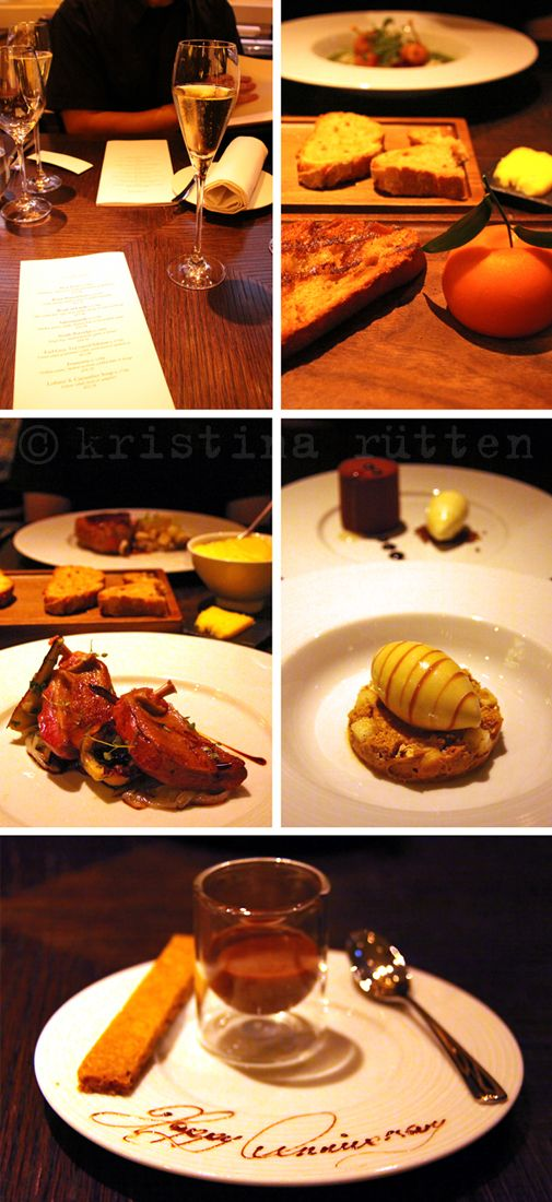 *dinner* by heston blumenthal ... mandarin oriental, london