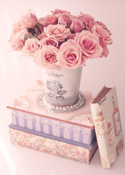 SALE Shabby Chic Wall Art, Canvas Art, Canvas Wall Art, Pink Wall Art,  Peony Print, Peonies Wall Art, Peony Wall Art, Girly Art, Bedroom Art