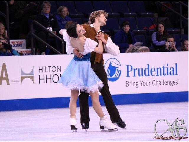 Meryl Davis / Charlie White(USA) : Skate America 2012