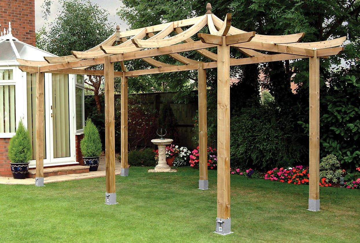 Best pergola kits landscaping details misc pinterest pergola a stunning walk through feature for displaying your flowers and vines the japanese extended pergola kit from grange detailed assembly instructions fsc solutioingenieria Choice Image