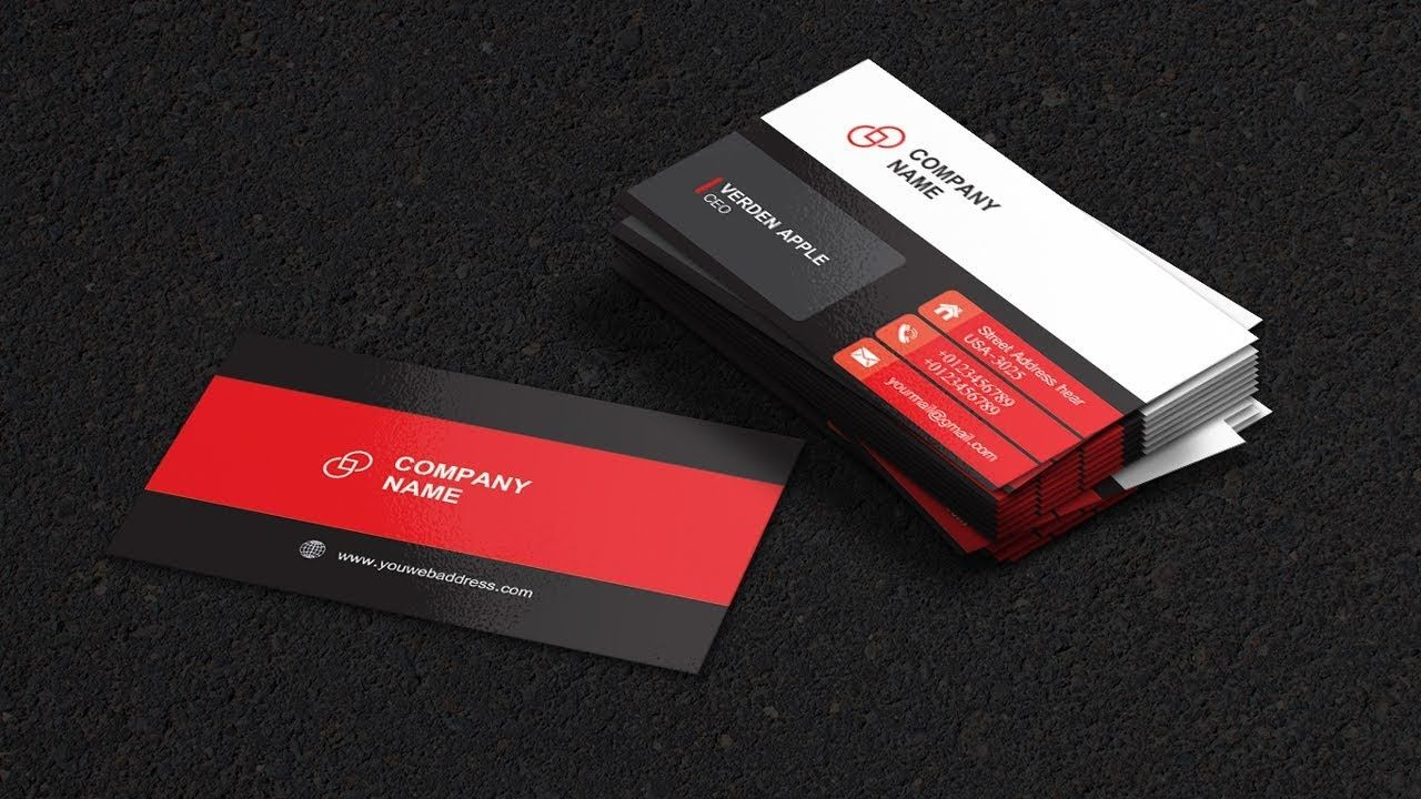 Business Cards Design Illustrator Cc Glossy Visiting Card 2019 Visiting Card Design Visiting Cards Business Card Design