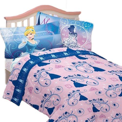 Cinderella Secret Princess Bed Sheet Set With Images Twin Bed Sheets Bedding Accessories Cinderella Bed