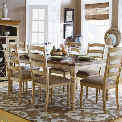 Woodbridge Home Designs Nash Dining Table  Mom Dining  Pinterest Entrancing Two Toned Dining Room Sets Design Decoration