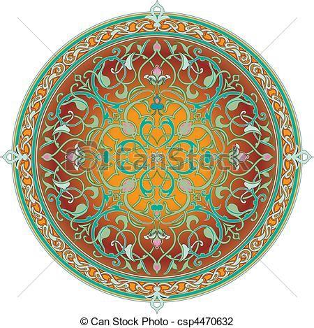 Arab Motivumok Arabic Pattern Floral Stock Images Eastern Floral