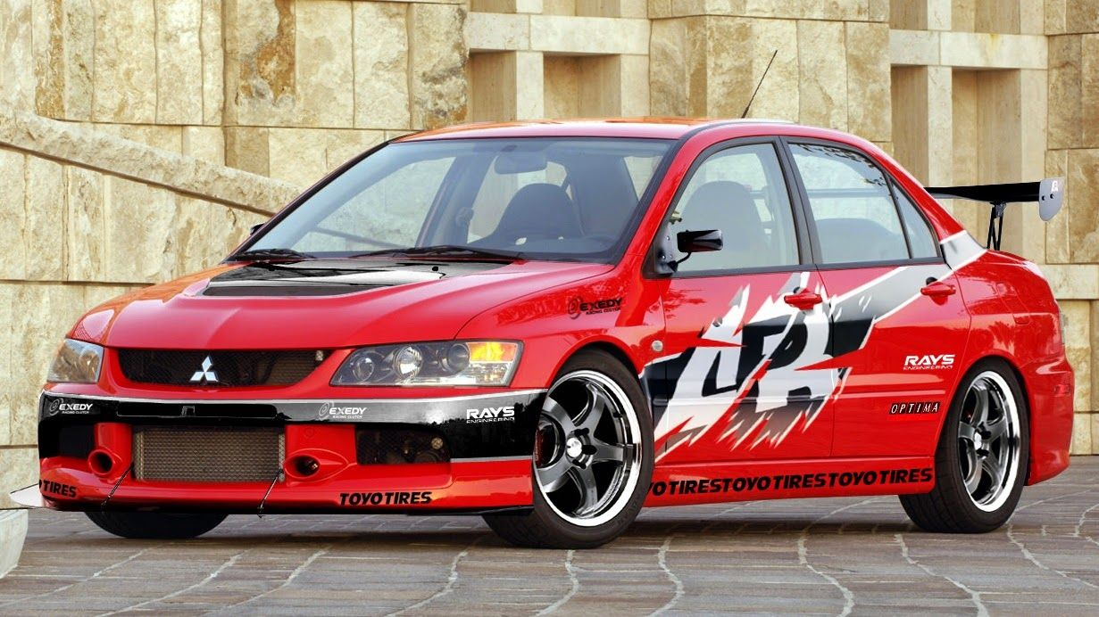 Mitsubishi Evolution IX from THE FAST AND THE FURIOUS