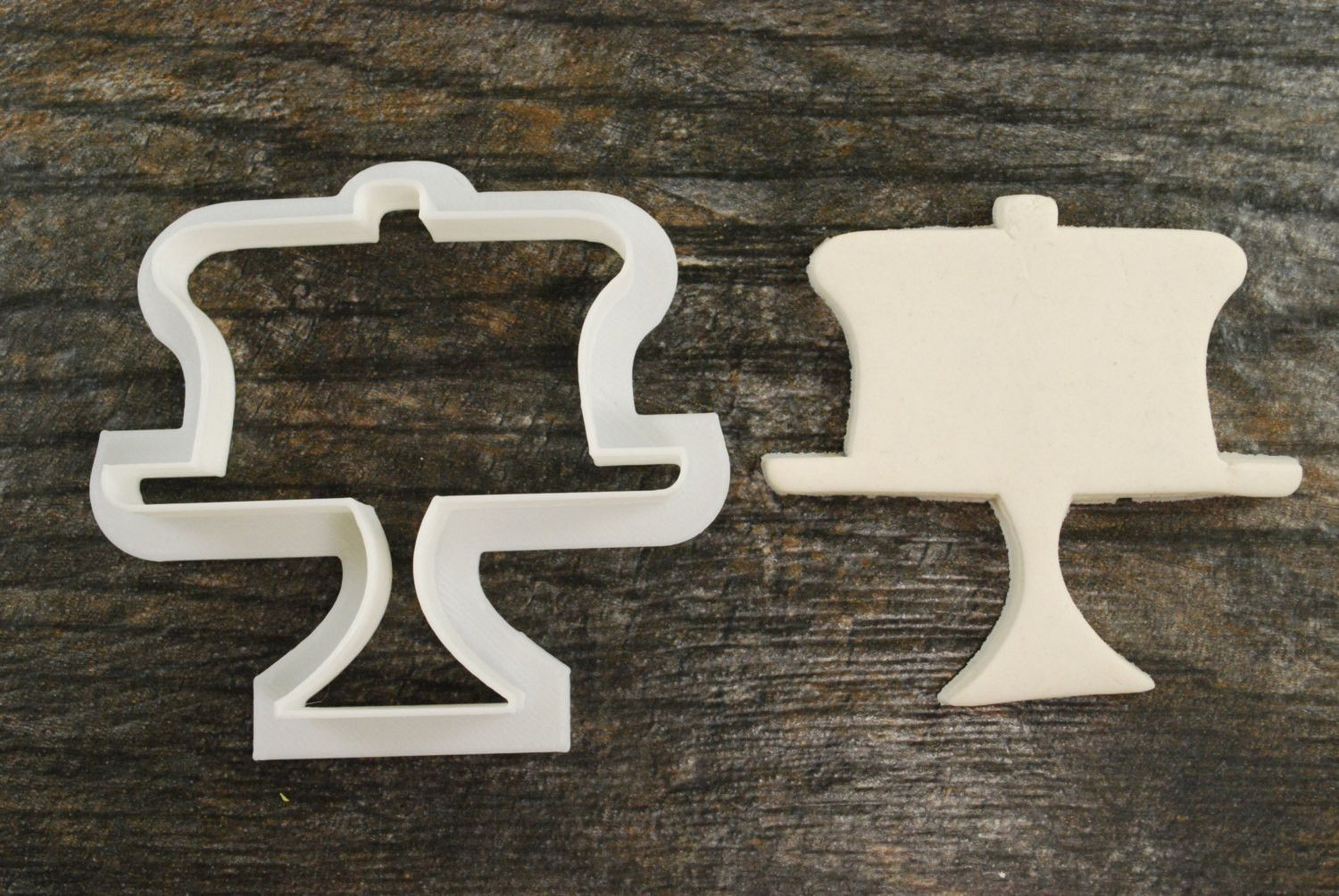 Cake Lid / Stand Cookie Cutter