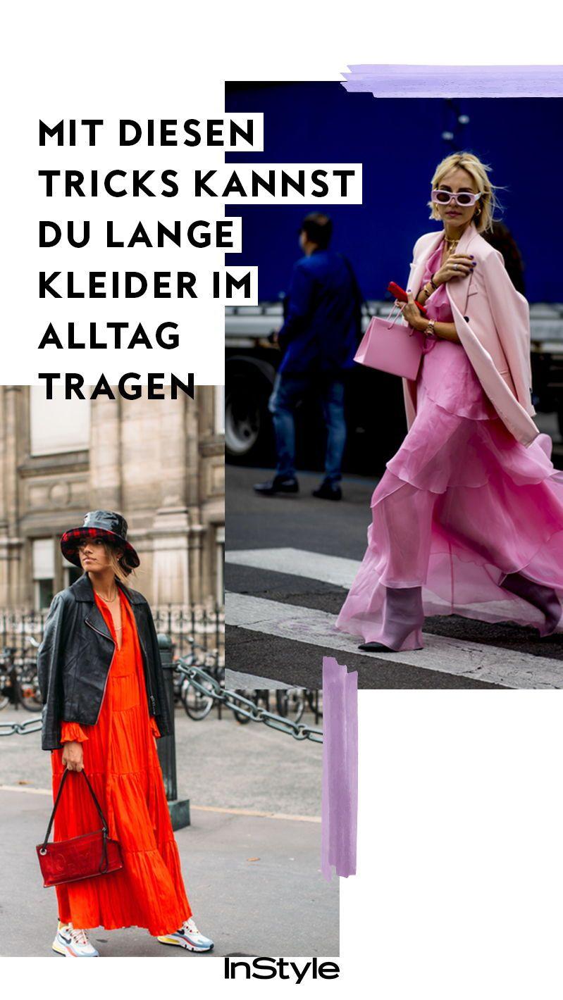 so stylst du lange kleider alltagstauglich | lange kleider