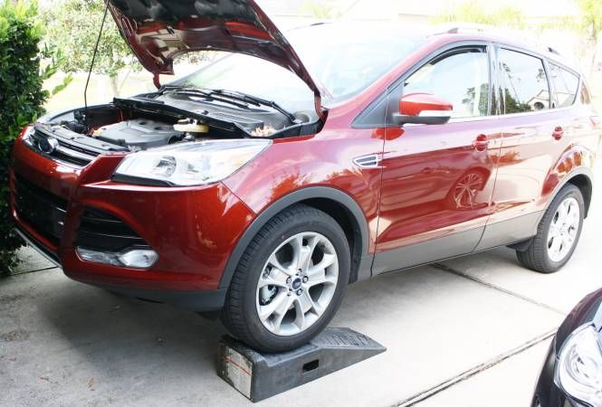 Change The Oil On A Ford Escape Ford Escape Ford Oil Change