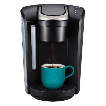 Keurig K Select Single Serve K Cup Pod Coffee Maker Matte Black Walmart Com In 2020 Single Cup Coffee Maker Single Serve Coffee Makers Single Coffee Maker