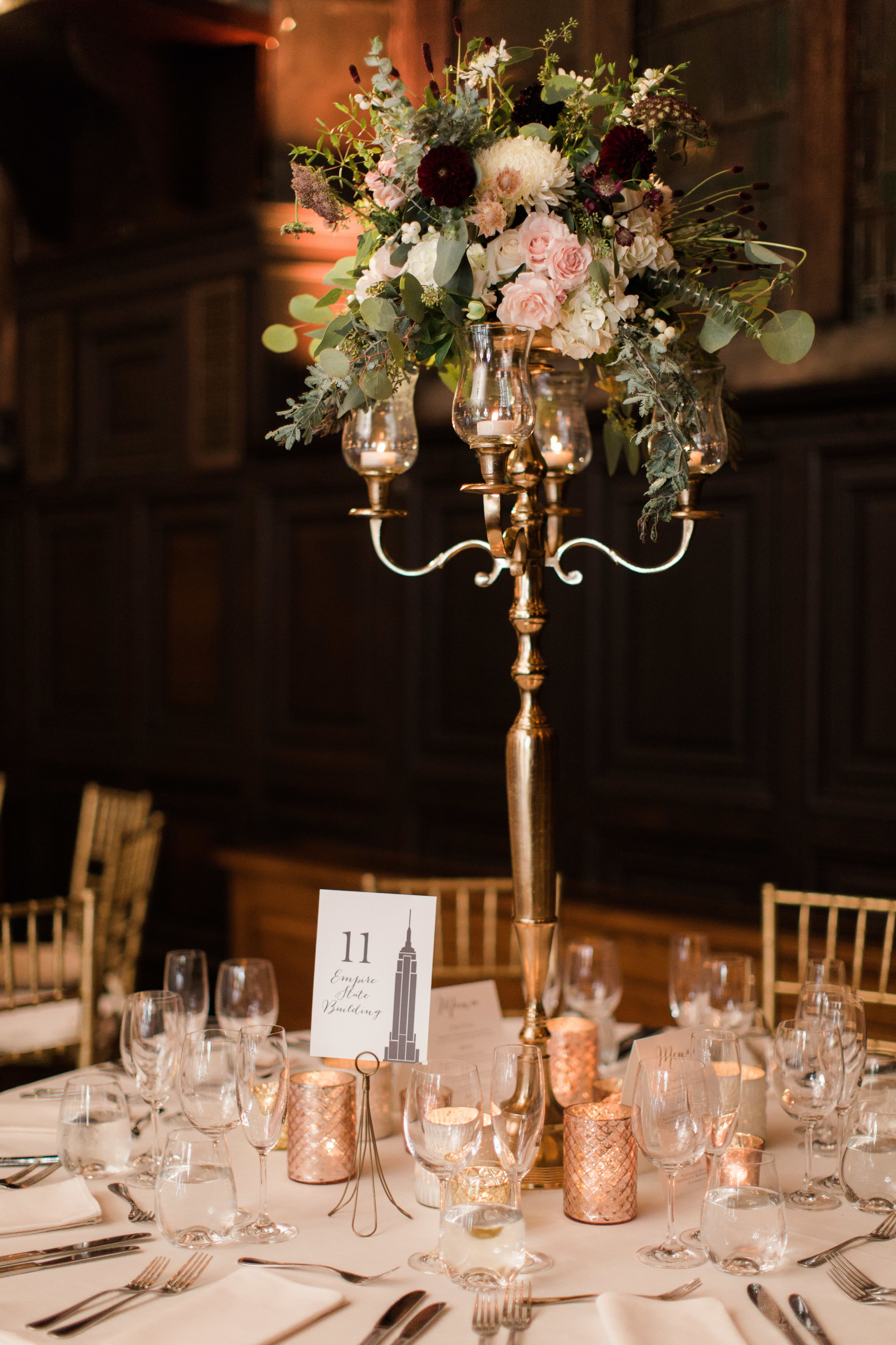 Rainy Day Romance In New York City Floral Designs Reception And