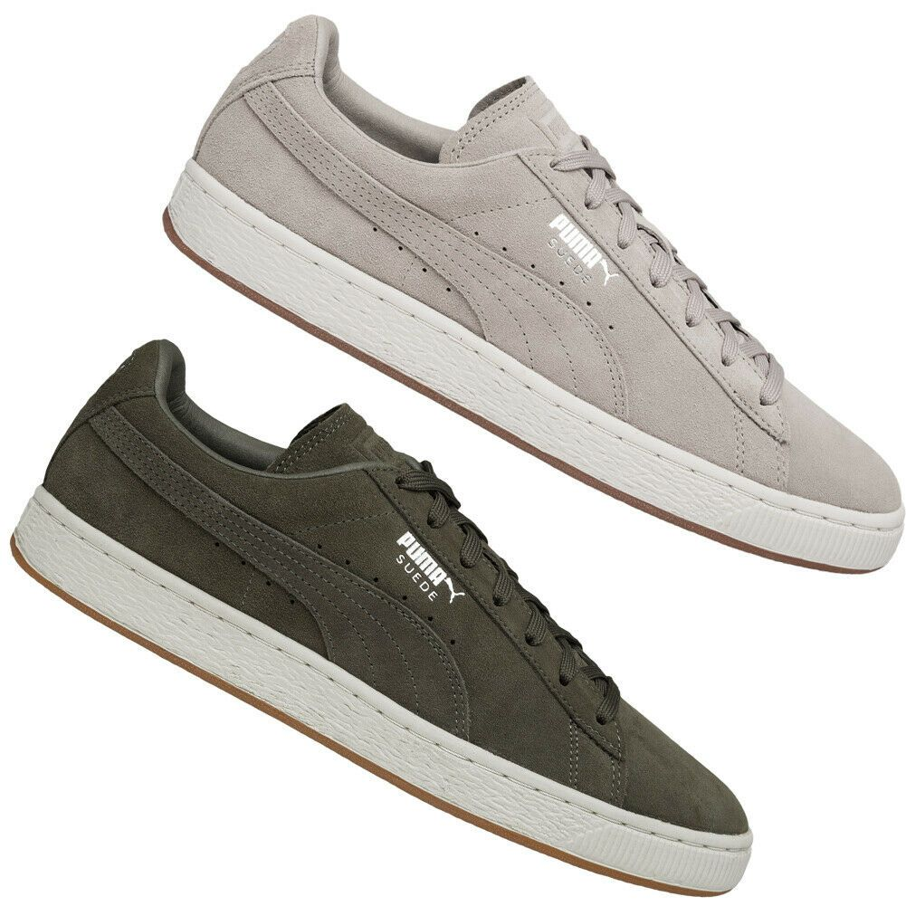 buy online c1bb0 9715d PUMA Suede Classic Soft Leder Sneaker Freizeit Low Top Schuhe Unisex Sneaker