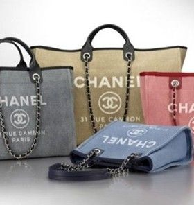 Chanel Deauville Canvas Tote Bag Reference Guide - Presenting the Chanel  Deauville Tote Bag. This tote bag first originated from Chanel s Spring Summer  2012 ... 33c2f36179b4e