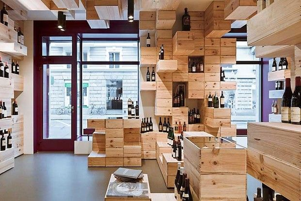 Ecological interior design shop
