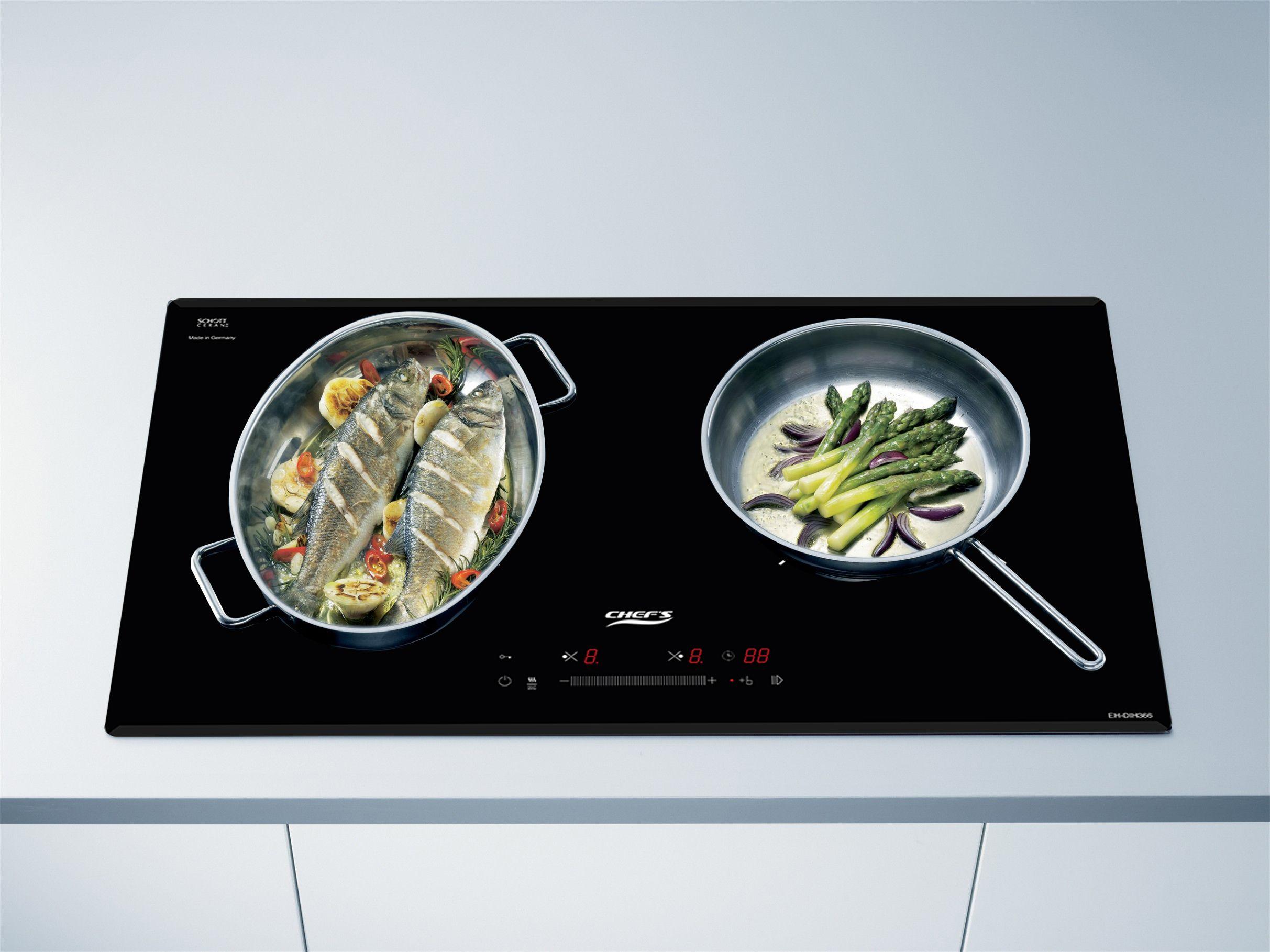 Đánh giá chi tiết bếp từ chefs eh dih366 new