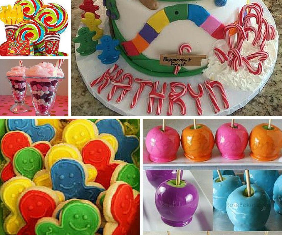 Candyland Party Ideas Kids Party Ideas at Birthday in a