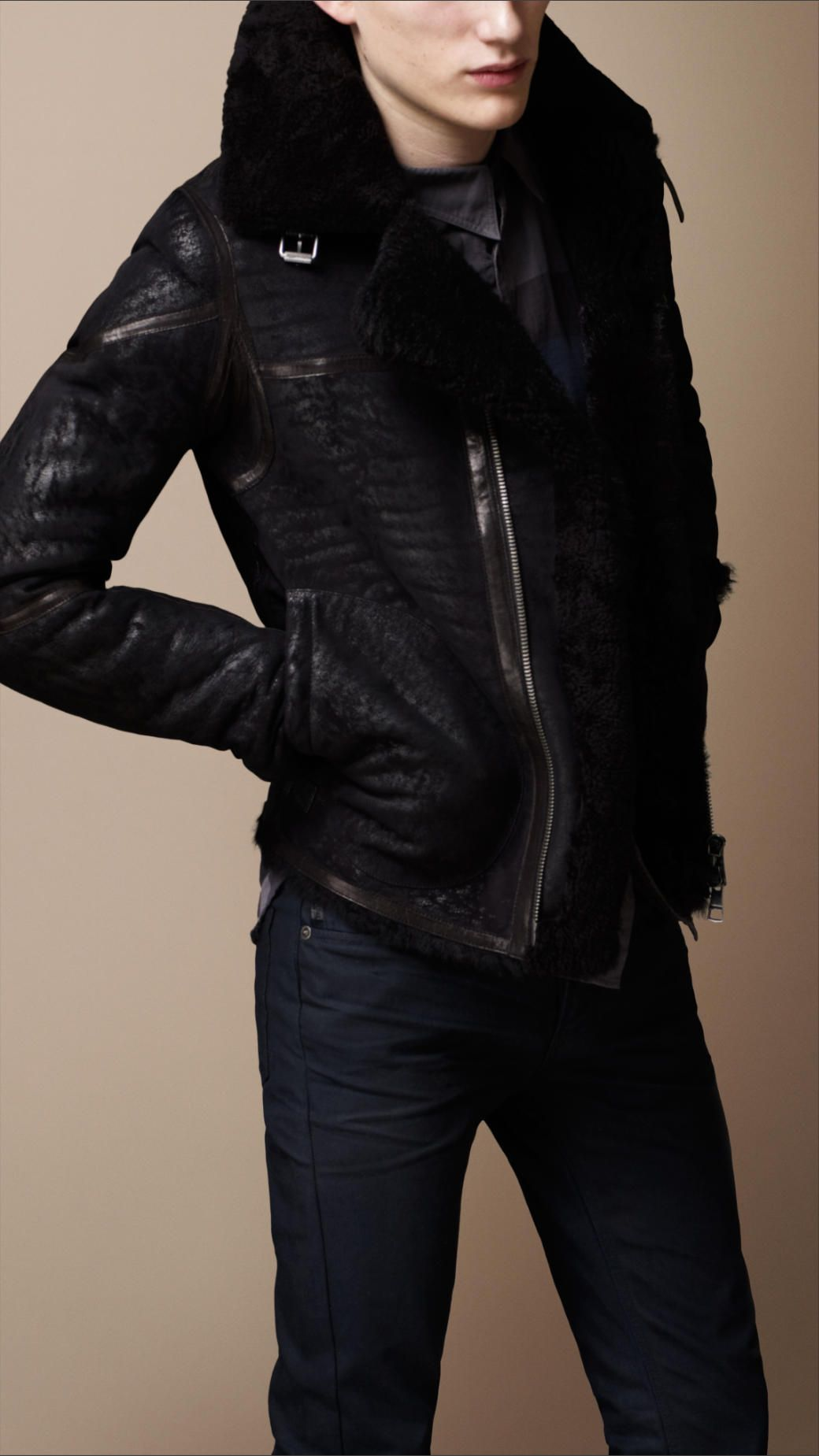 Men S Coats Jackets Burberry United States Leather Jacket Men Biker Jacket Jackets [ 1849 x 1040 Pixel ]