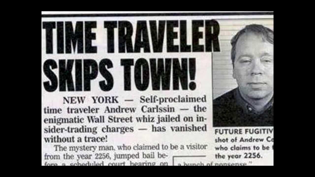Andrew Carlssin The Man From The Year 2256 Com Imagens Viagem