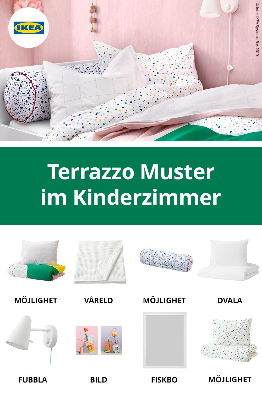Ikea Deutschland Moderne Schlafzimmer Textilien Im Terrazzo
