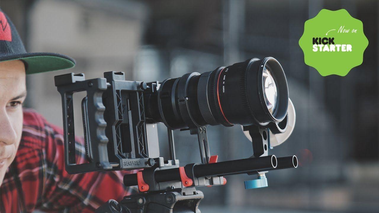 Beastgrip DOF Adapter MK2 & 1 33X Anamorphic lens