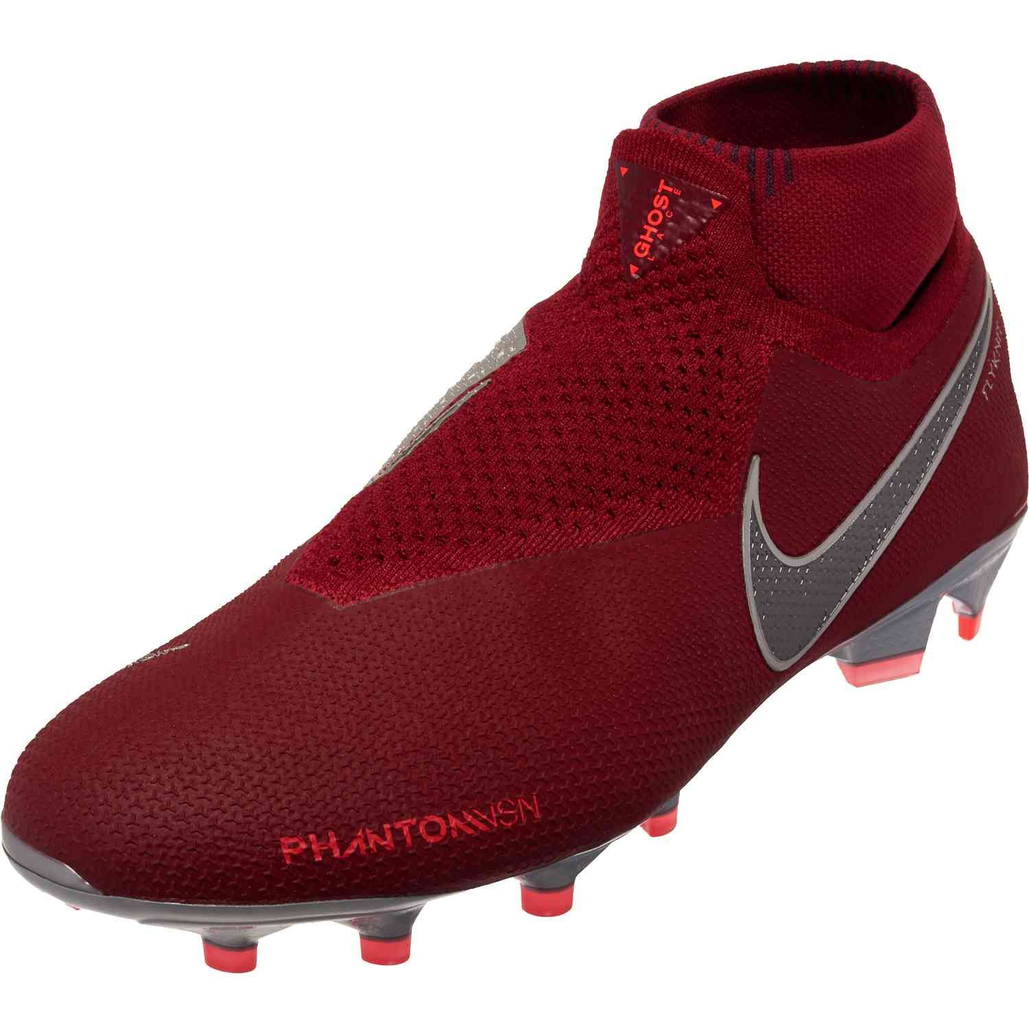Nike Phantom Vision Elite FG – Team Red Metallic Dark Grey Bright ... 24e5c5eb3c112
