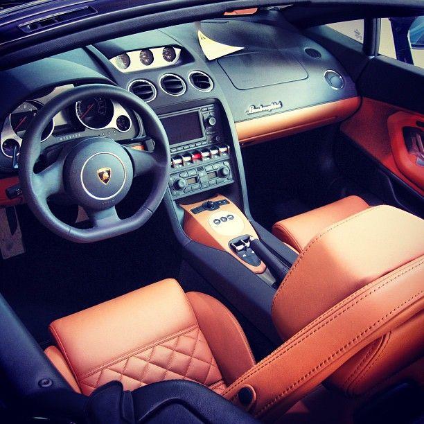 2011 Lamborghini Gallardo Exterior: Lamborghini Gallardo Interior Looks Especially Good With