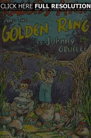 Raggedy Ann And The Golden Ring Johnny Gruelle Raggedy Ann And
