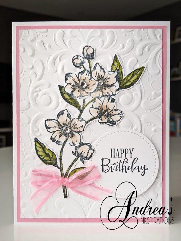 Parisian Class Stampin Up Andrea S Inkspirations Handmade Greeting Card Designs Handmade Cards Stampin Up Card Making Birthday