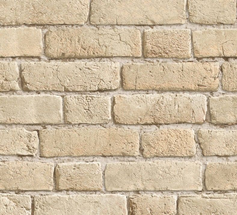 Vintage Bricks Wallpaper Buff 10M wallpaper Pinterest Android - Raccord Peinture Mur Plafond