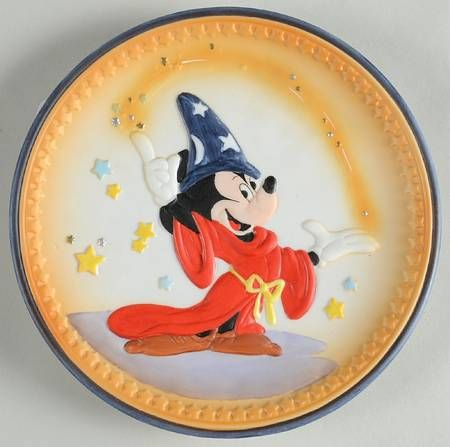 Schmid Disney Special Edition BX11 WITH BOX FANTASIA RELIEF PLATE at Replacements, Ltd - $24.99