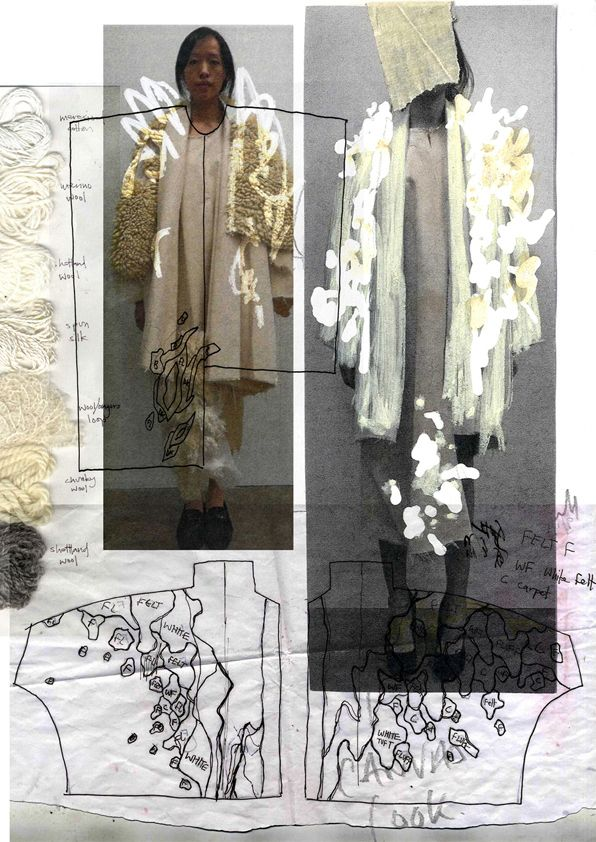 Fashion Sketchbook - fashion design development; creative process; fashion portfolio // Paul Thomson