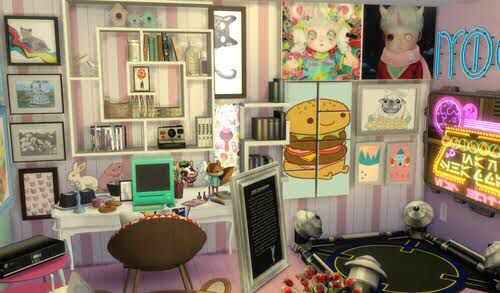 The sims 4 clutter cc  | Sims 4 | Sims 4 clutter, Sims 4