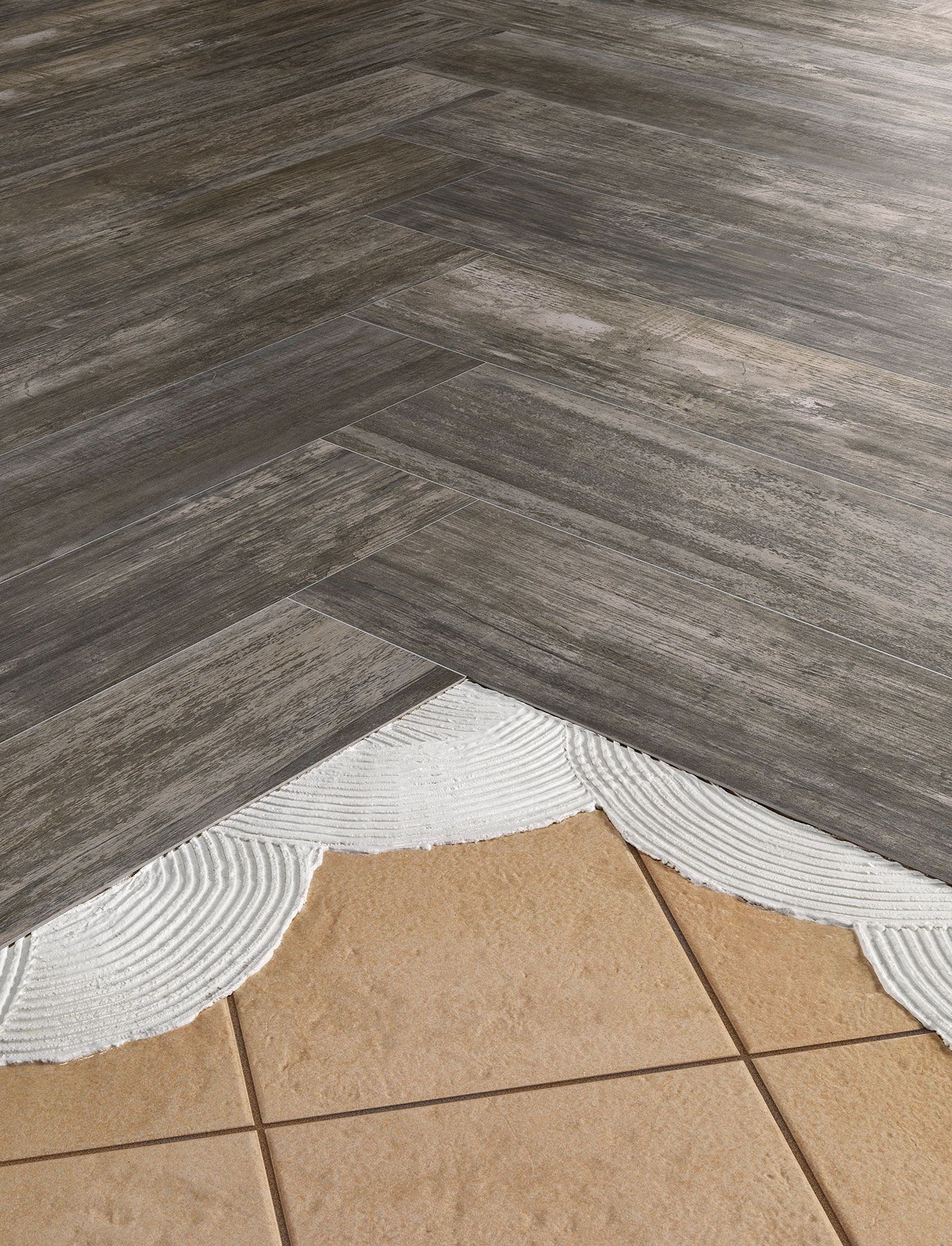 Beau Install THINNER Tile Right Over Old Outdated
