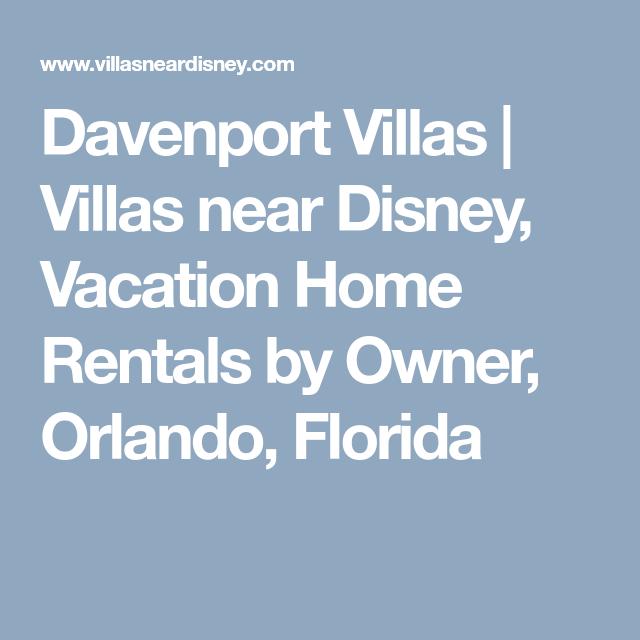 Villas Near Disney, Vacation Home
