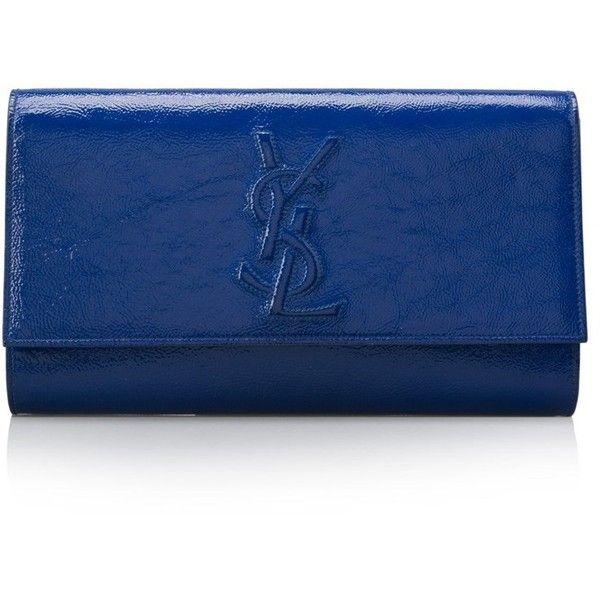 Pre-owned - Belle de Jour patent leather clutch bag Saint Laurent yNsQJrJNk