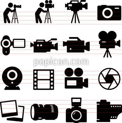 Camera Icons Camera Icon Icon Film Icon