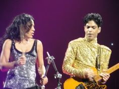 Anyone get any good pics of Sheila and Prince from the show last night?…