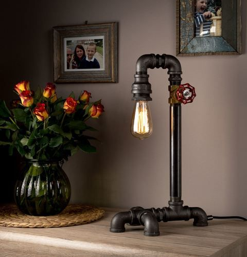 Industrial Light Pipe Home Lamps Small Table Lamps For Big Home Improvement