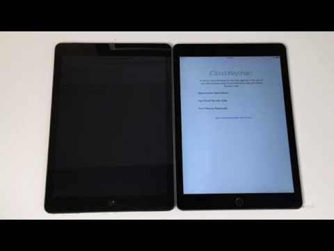 How to Backup and Restore the iPad