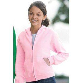 School Uniform Zip Fleece Jacket Sweatshirt