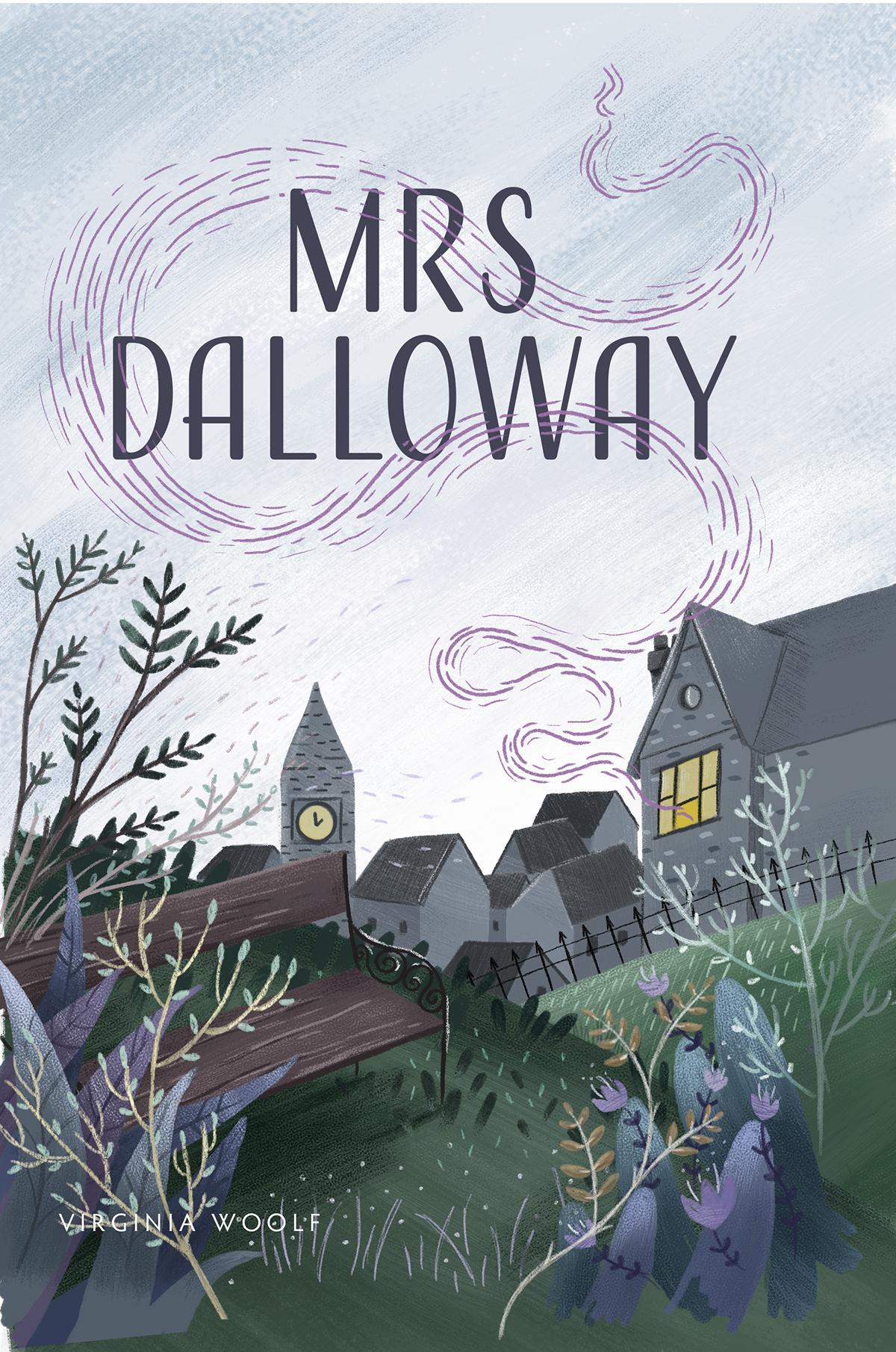 Mrs Dalloway Wikipedia Book Illustration Book Cover Design