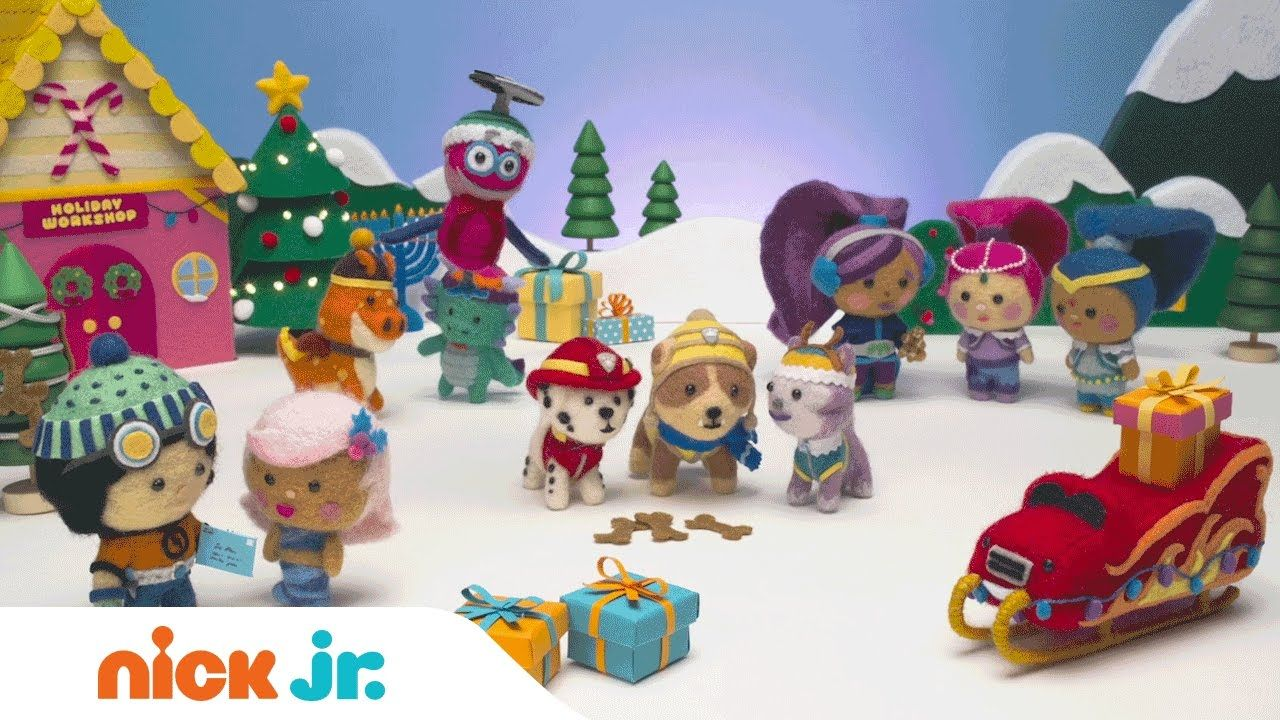 The Holiday Song Music Video   PAW Patrol & the Nick Jr. Family ...
