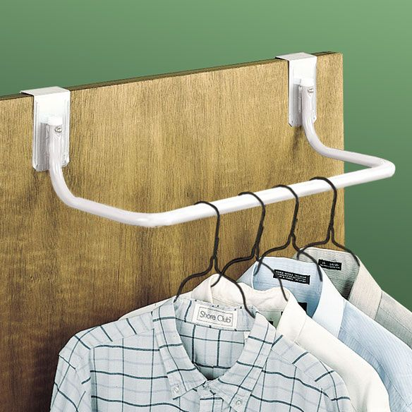 Over The Door Clothes Rod Over Door Hanger Walter Drake Closet Rod Door Sweep Clothes Hanger